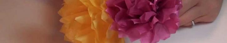 Embedded thumbnail for  Ako vyrobiť papierový karafiát